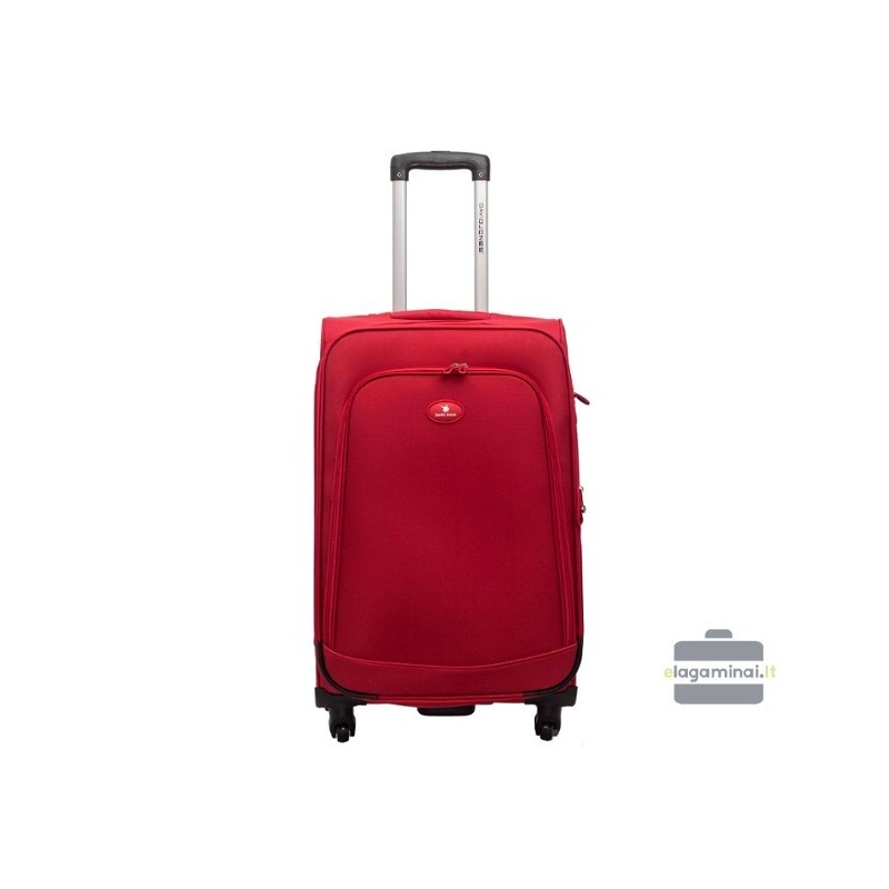 Keskmise suurusega kohver David Jones 2000-V punane