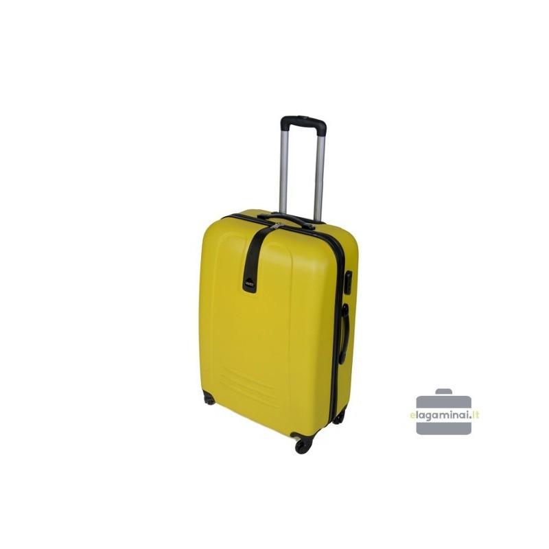 Keskmise suurusega kohver Gravitt 602-V Yellow
