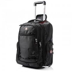 Ratastega arvutikotts - Seljakott - Seljakott 17,3 Swissbags+ Traveller 42L must