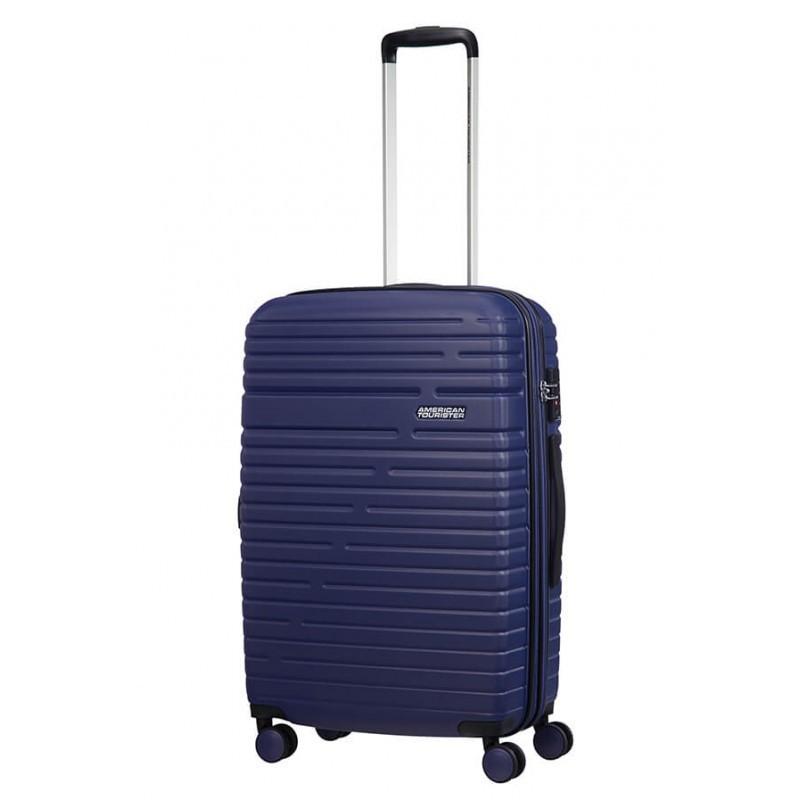 Keskmise suurusega kohvrid American Tourister Aero Racer V sinine