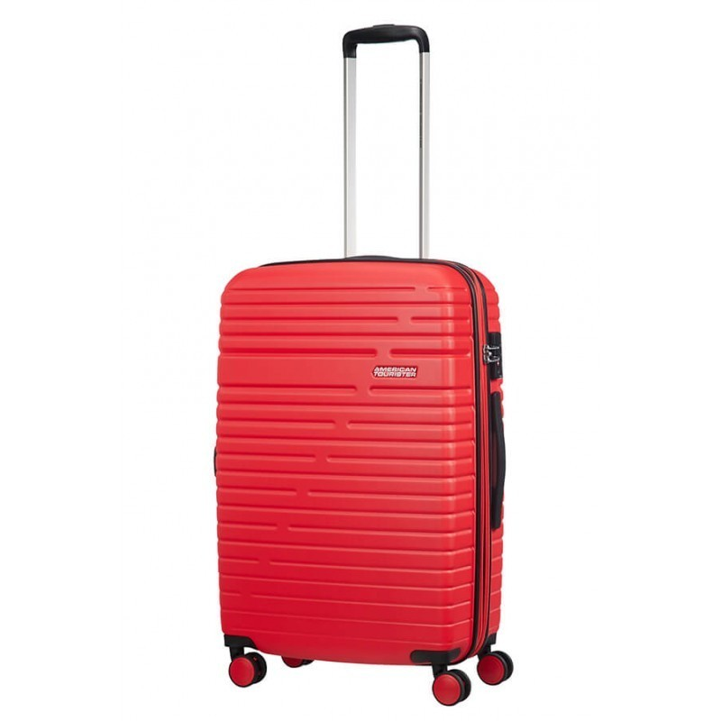 Keskmise suurusega kohvrid American Tourister Aero Racer V punane