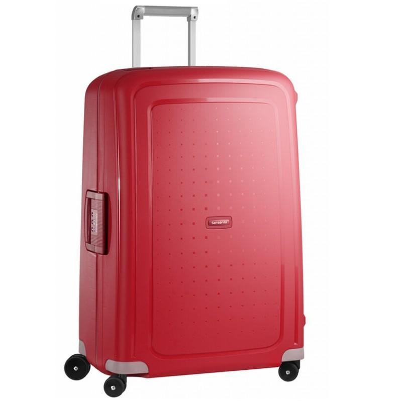 Suur Kohvrid Samsonite S-Cure D punane Crimson Red