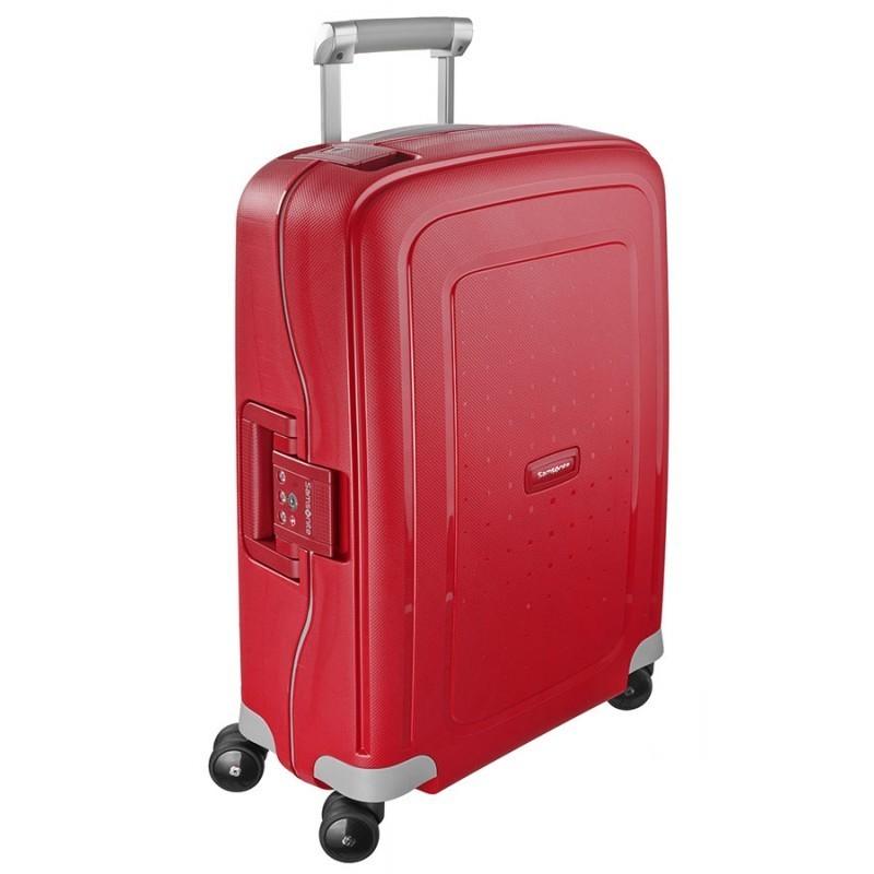 Käsipagasi kohvrid Samsonite S-Cure M punane Crimson Red