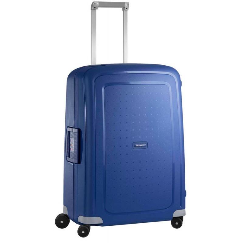 Keskmise suurusega kohver Samsonite S-Cure V sinine Dark Blue