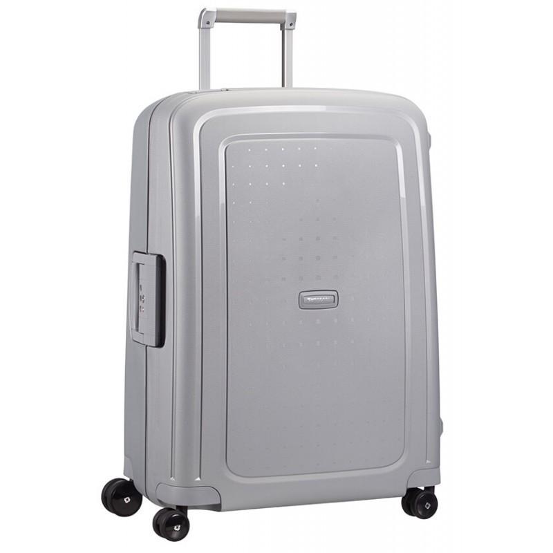 Keskmise suurusega kohver Samsonite S-Cure V silver