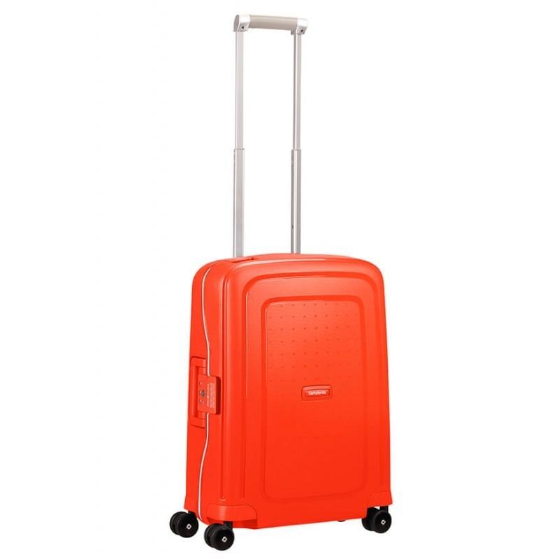Käsipagasi kohvrid Samsonite S-Cure M punane Fluo Red Capri