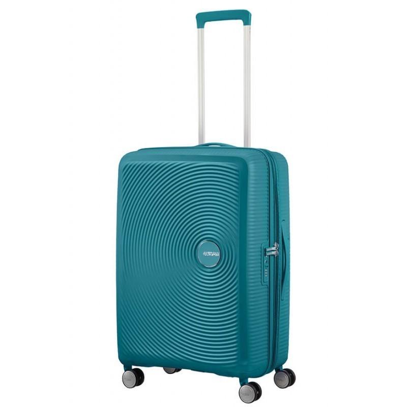 Keskmise suurusega kohvrid American Tourister Soundbox V Jade Green