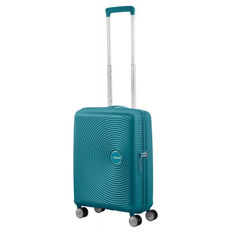 Käsipagasi kohvrid American Tourister Soundbox M Jade Green