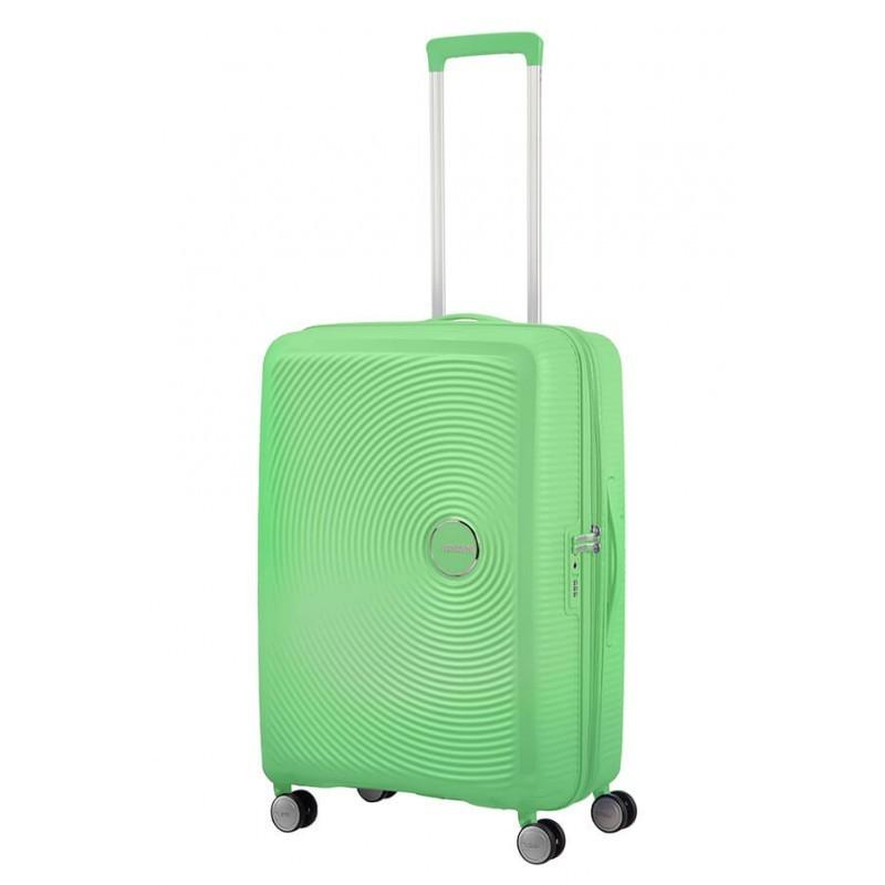 Keskmise suurusega kohvrid American Tourister Soundbox V Spring Green
