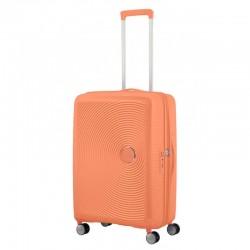 Vidutinis lagaminas American Tourister Soundbox V Oranžinis (Cantaloupe)