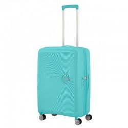 Vidutinis lagaminas American Tourister Soundbox V Mėlynas (Poolside Blue)
