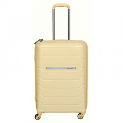 Keskmise suurusega kohvrid Burak PQ-V sand
