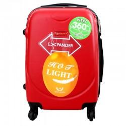 Vaikiškas plastikinis lagaminas Gravitt 310-S Raudonas