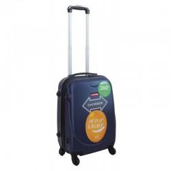 Vaikiškas plastikinis lagaminas Gravitt 310-S Tamsiai mėlynas