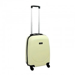Vaikiškas plastikinis lagaminas Gravitt BS310 Kreminė spalva