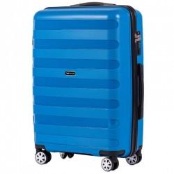 Keskmise suurusega kohvrid Wings PP07-V sinine