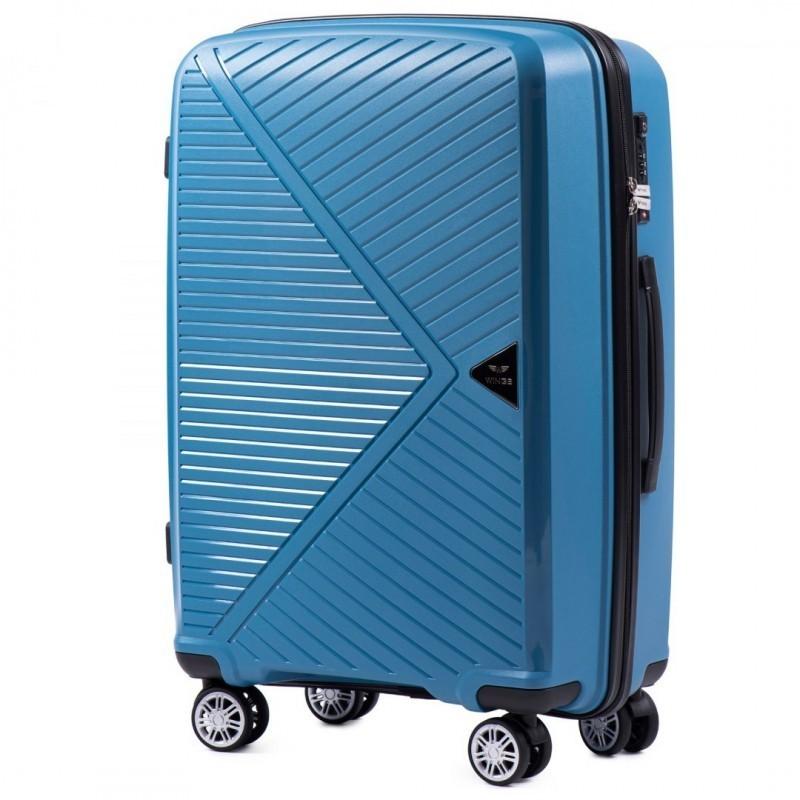 Keskmise suurusega kohvrid Wings PP06-V sinine