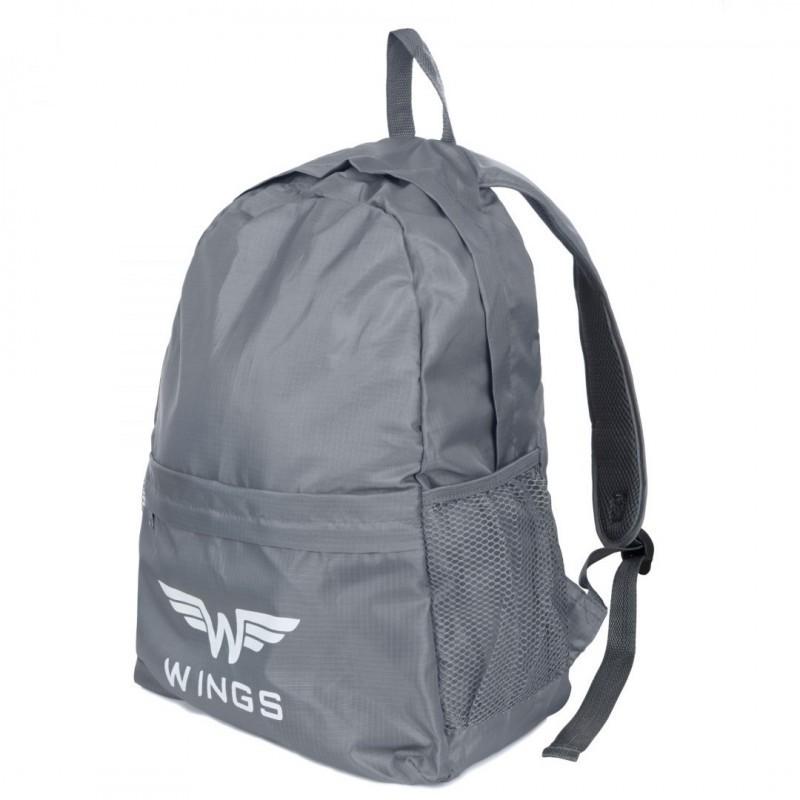 Kokkuklapitav seljakott Wings BP185 grey