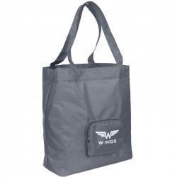 Sulankstomas pirkinių krepšelis Wings BP133 Pilkas