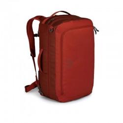 Osprey rankinio bagažo krepšys-kuprinė TRANSPORTER GLOBAL CARRY ON 44 Tamsiai raudonas