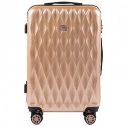Suur kohvrid Wings TD190-D Šampanja värv