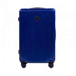 Didelis plastikinis lagaminas Wings 565CB-D Mėlynas
