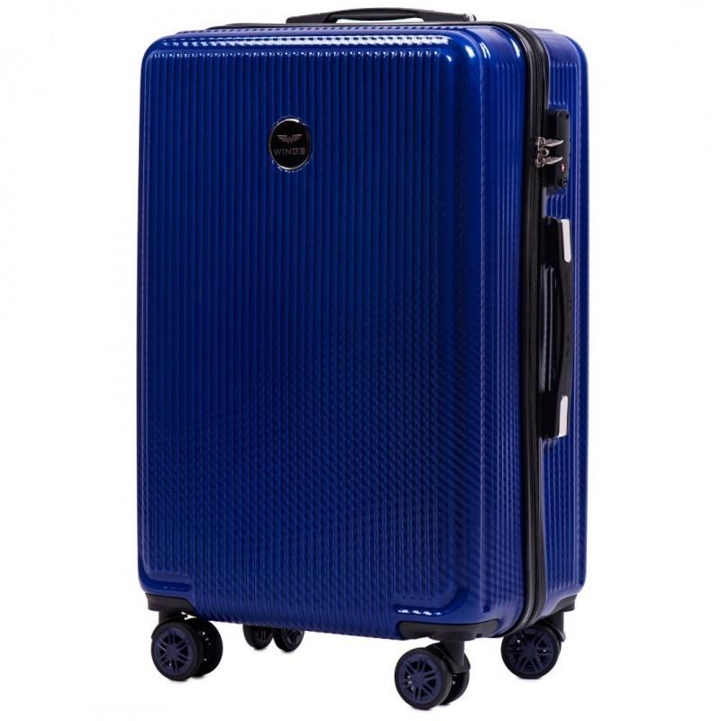 Keskmise suurusega kohvrid Wings 565CB-V sinine