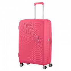 Suur kohvrid American Tourister Soundbox D roosa Rose intense