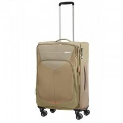 Keskmise suurusega kohvrid American Tourister Summerfunk V hall Beige