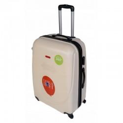 Keskmise suurusega kohvrid Gravitt 310-2Z-V cream
