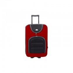 Suur kohvrid Suitcase 801-D mustpunane