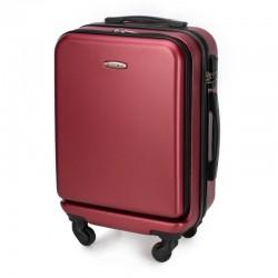 Mažas lagaminas Wittchen 56-3A-431 Tamsiai raudonas