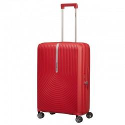 Keskmise suurusega kohvrid Samsonite HI-FI V punane