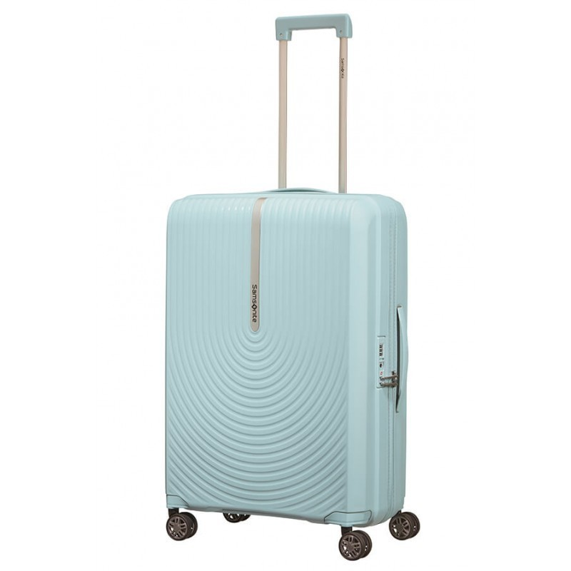 Keskmise suurusega kohvrid Samsonite HI-FI V sinine Sky Blue