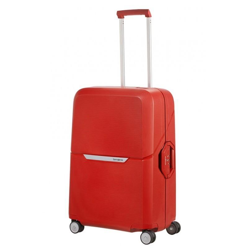Keskmise suurusega kohvrid Samsonite Magnum V punane Bright Red