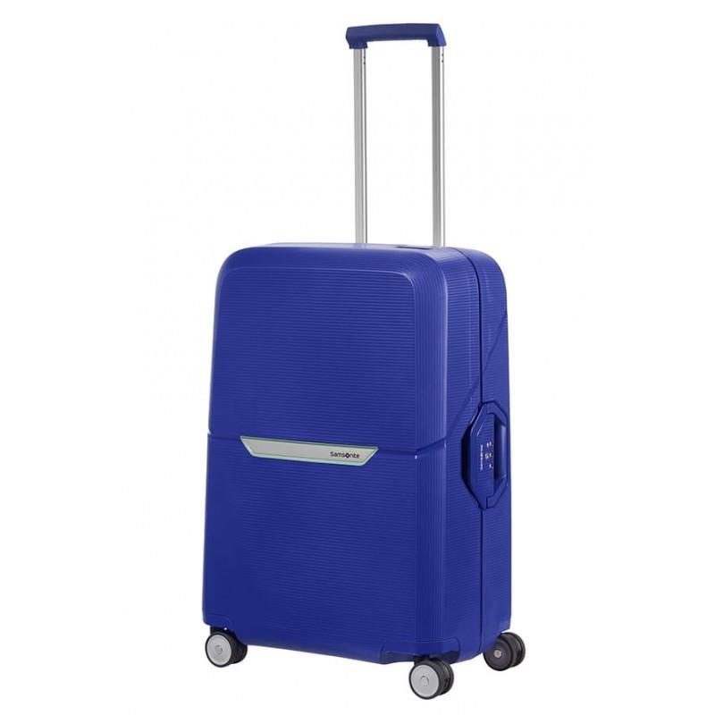 Keskmise suurusega kohvrid Samsonite Magnum V sinine Cobalt Blue