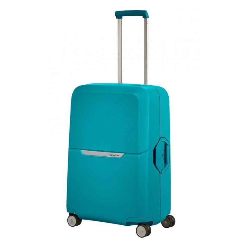 Keskmise suurusega kohvrid Samsonite Magnum V sinine Caribbean Blue