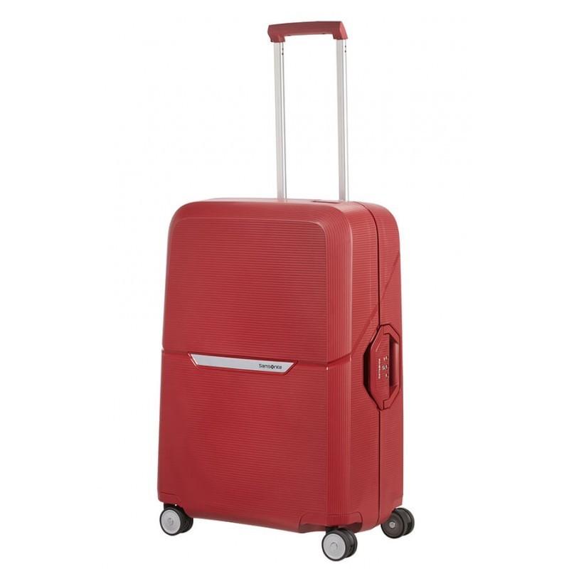 Keskmise suurusega kohvrid Samsonite Magnum V punane Rust Red