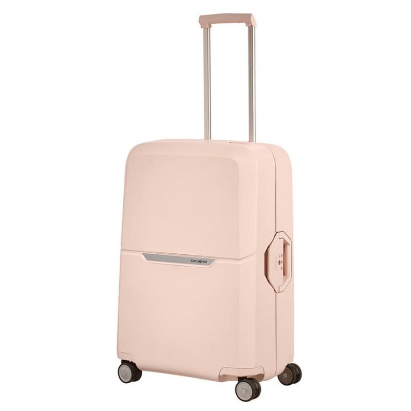 Keskmise suurusega kohvrid Samsonite Magnum V roosa Soft Rose