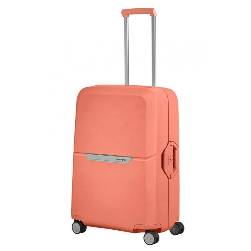 Keskmise suurusega kohvrid Samsonite Magnum V roosa Coral Pink