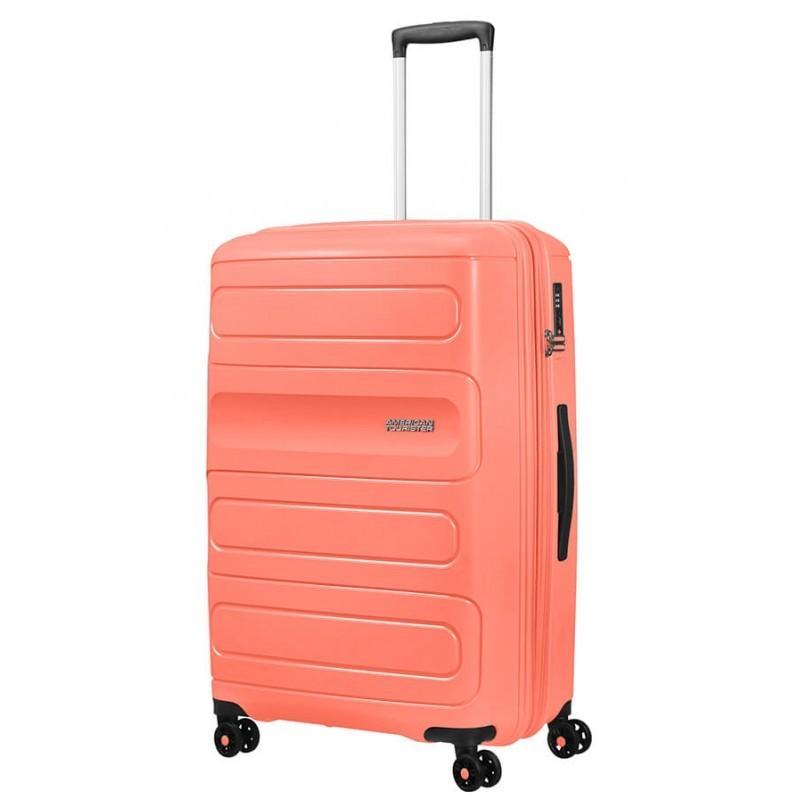 Suur kohvrid American Tourister Sunside D orange Living Coral
