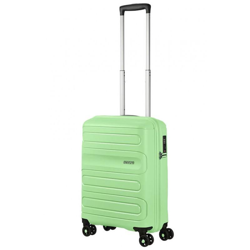 Käsipagasi kohvrid American Tourister Sunside M Neo Mint