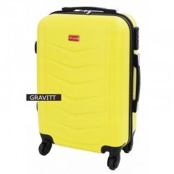 Käsipagasi kohvrid Gravitt 602-M kollane