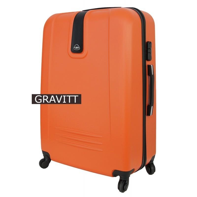 Keskmise suurusega kohver Gravitt 168a-V punane