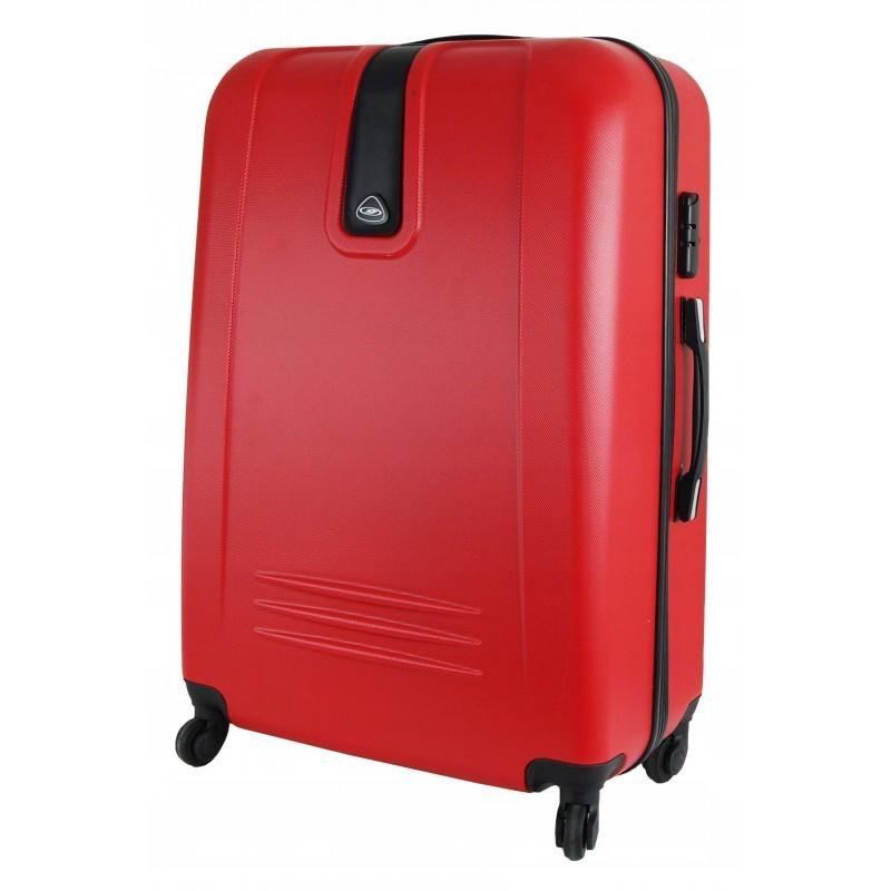 Suur kohver Gravitt 168A-D punane