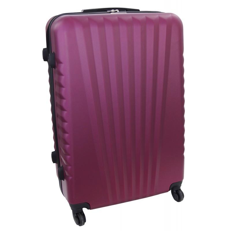 Suur kohver Gravitt 888A-D tumepunane