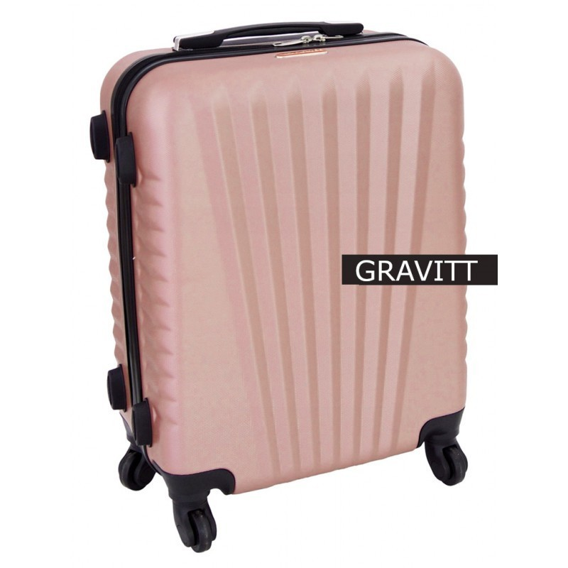 Käsipagasi kohvrid Gravitt 888A-M roosa