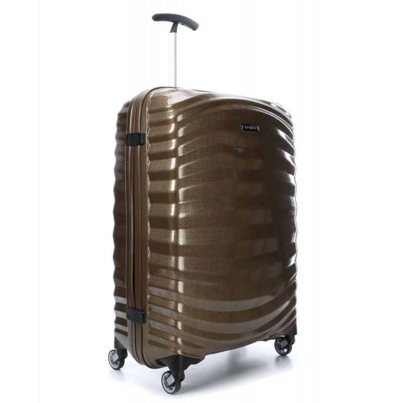 Keskmise suurusega kohvrid Samsonite Lite-Shock V Sand