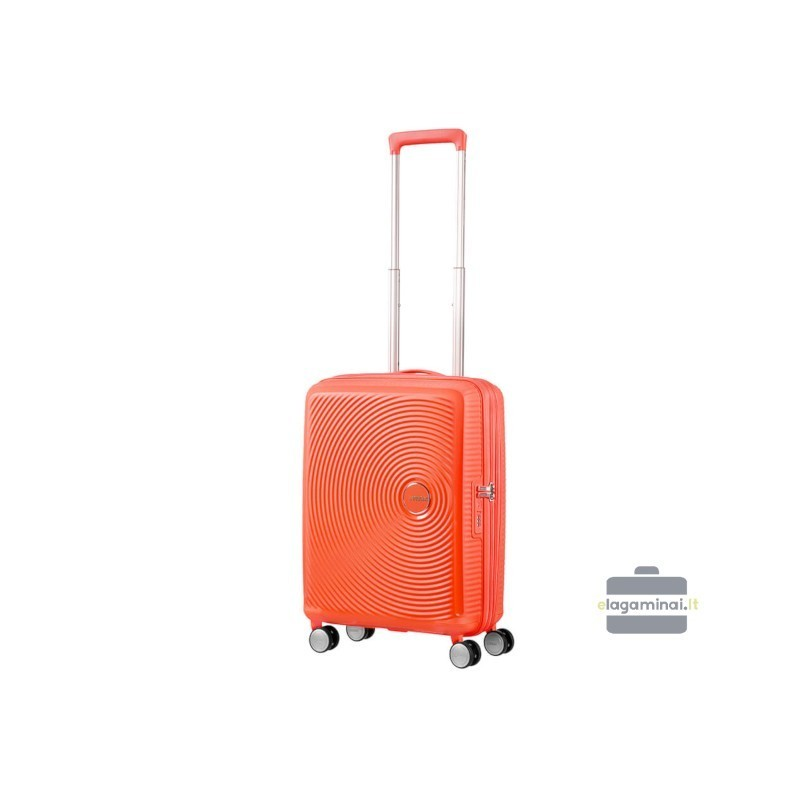 Käsipagasi kohvrid American Tourister Soundbox M orange