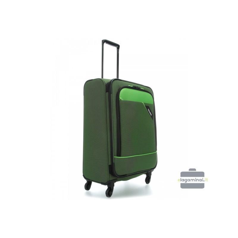 Keskmise suurusega kohver Travelite Derby V roheline